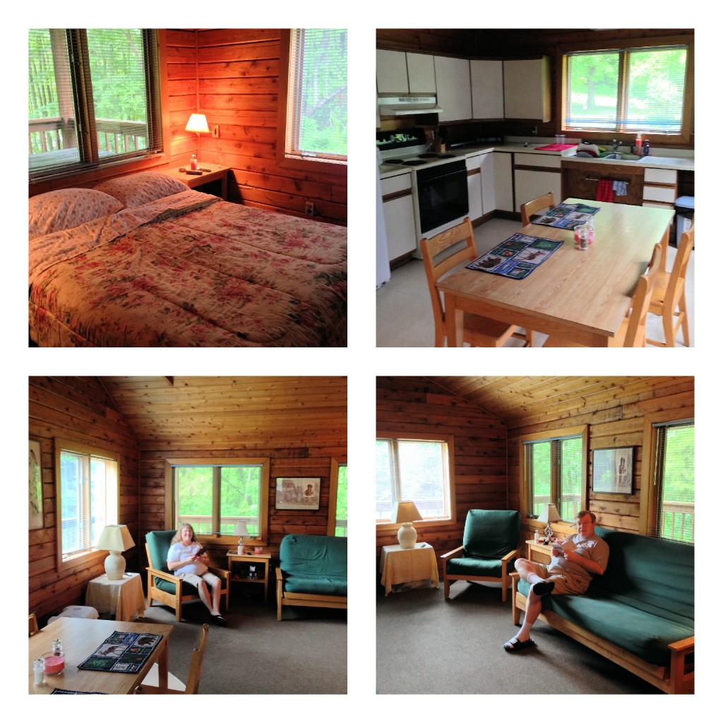 Cabin Collage