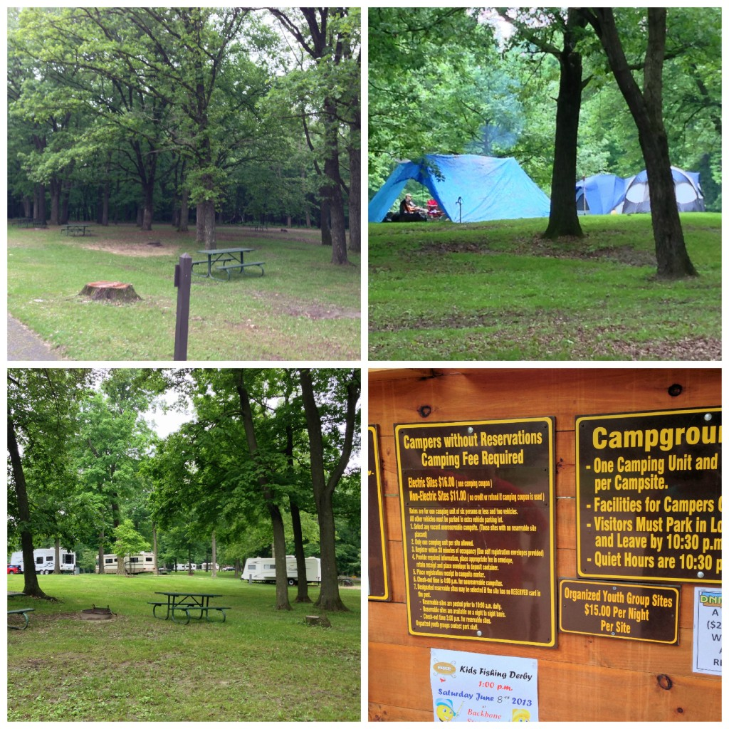 South Lake Campground Collage