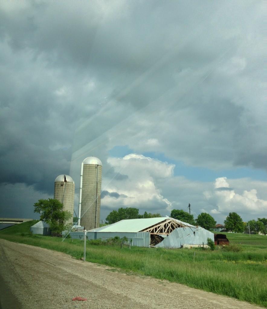 Stormy Sky Near Jesup, IA