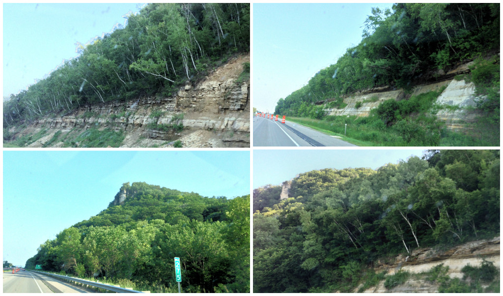 Southeastern MN Bluffs Collage