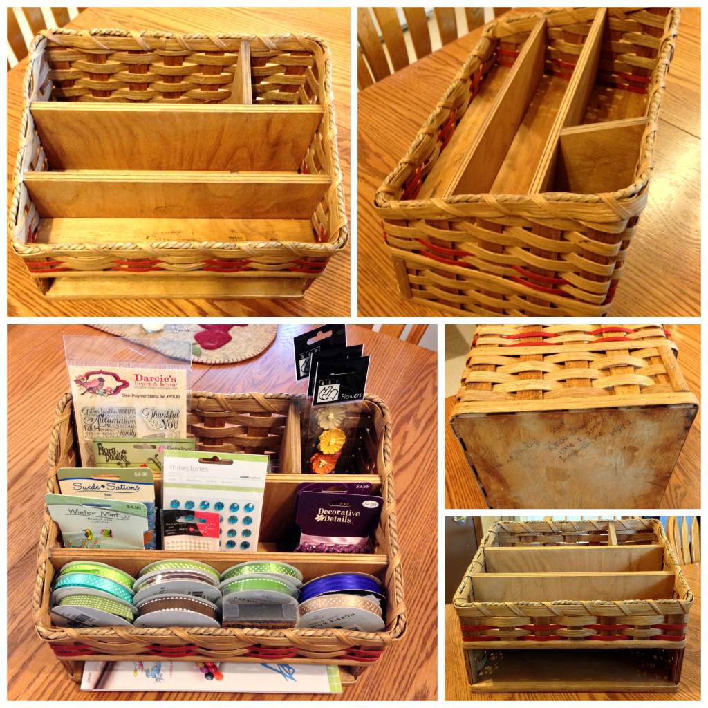 Craft organizer collage