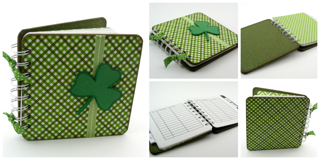 Shamrock Save the Date Notebook