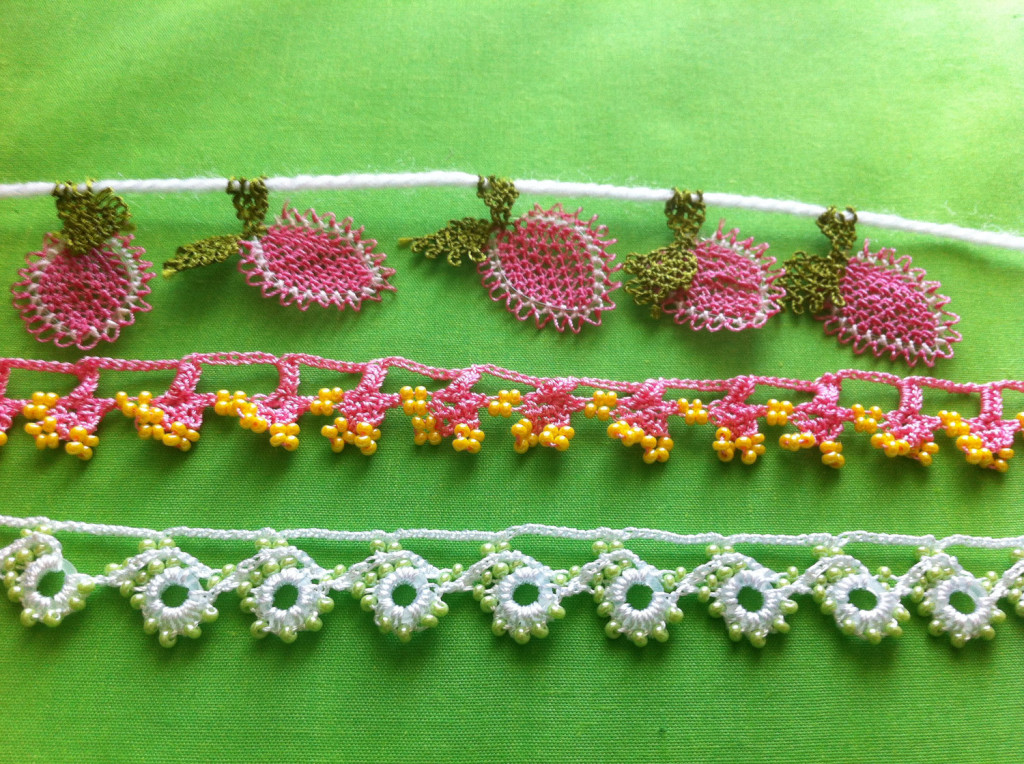 Assorted Bead and Needle Lace Oya by Anatolian Collections