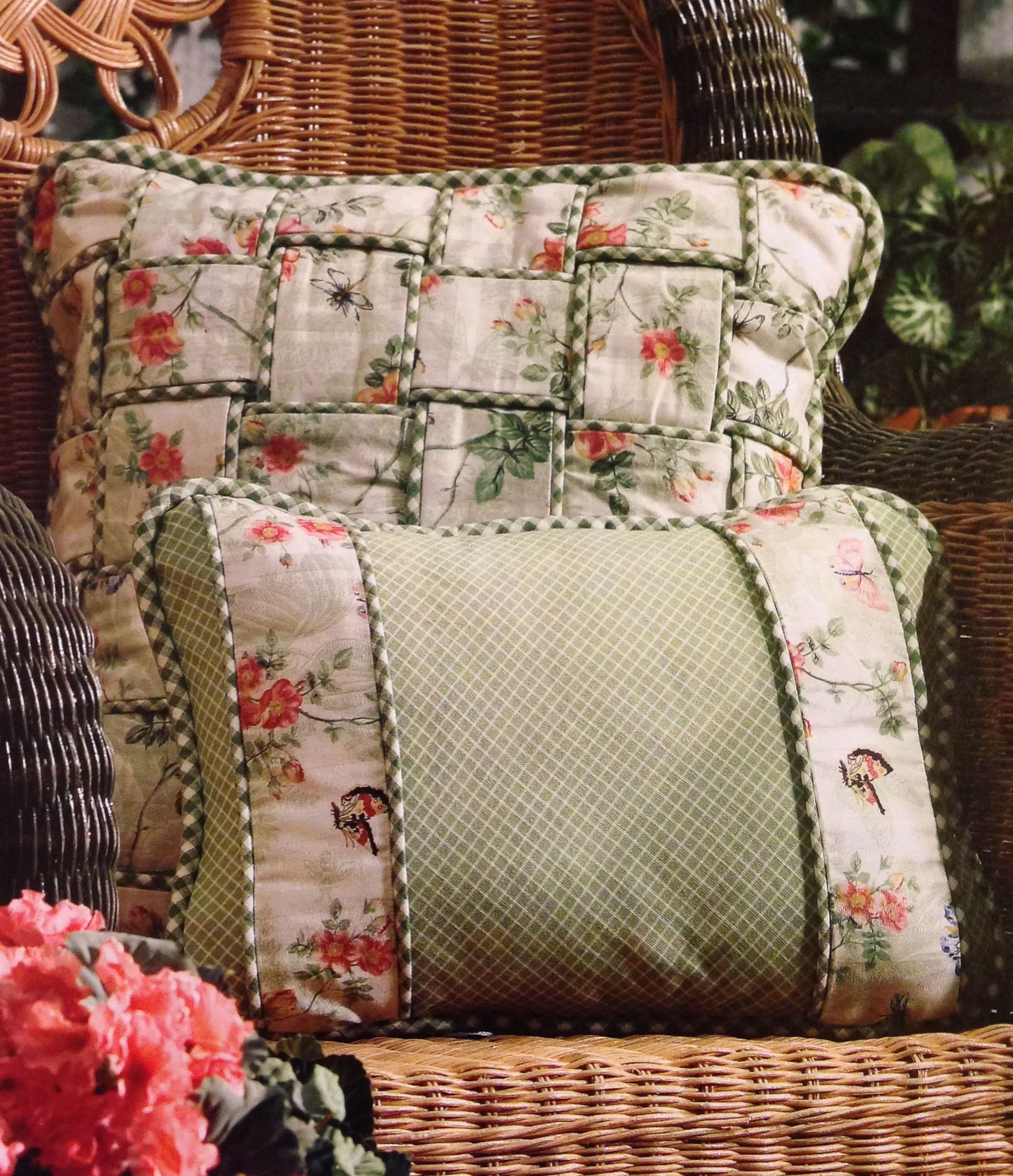 Sewing Decorative Bed Pillows : sewing ? Judy Nolan