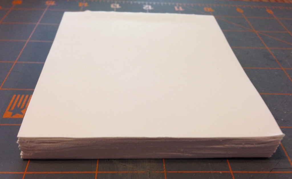 10 Trim your pages and sand them