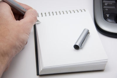 Office Supplies - Notepad by Jeroen van Oostrom