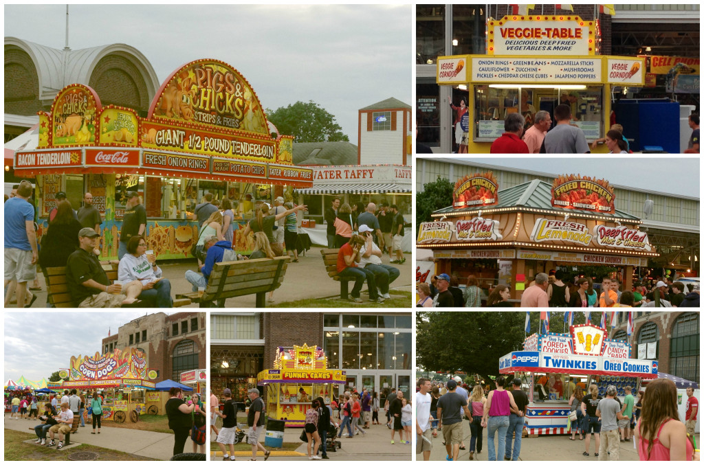 Fair Food Collage