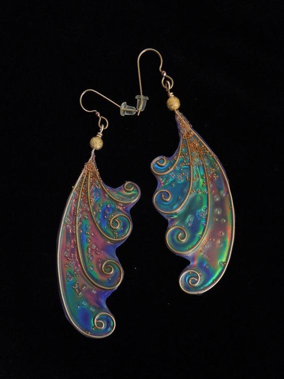 Fairy Wing Earrings