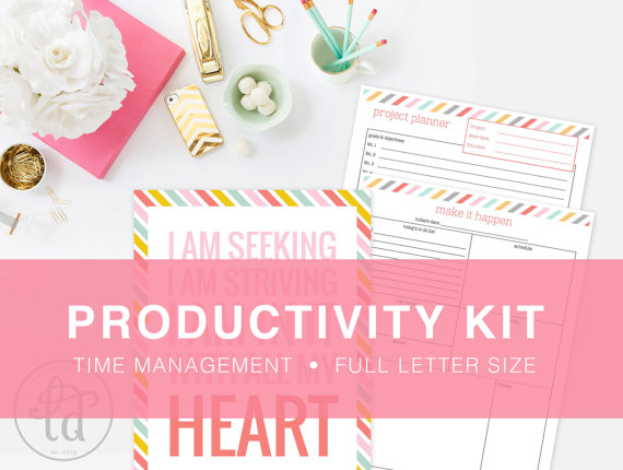 Productivity Kit for Time Management