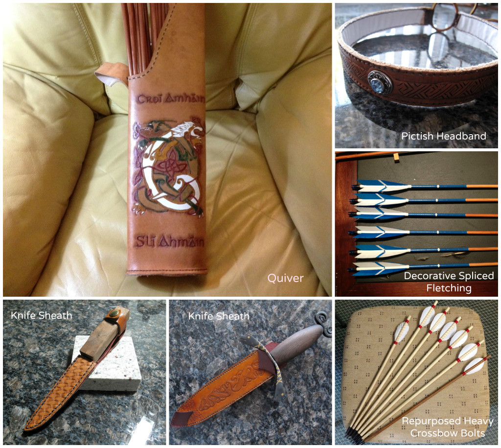 David's Arrow Fletching and Leatherwork