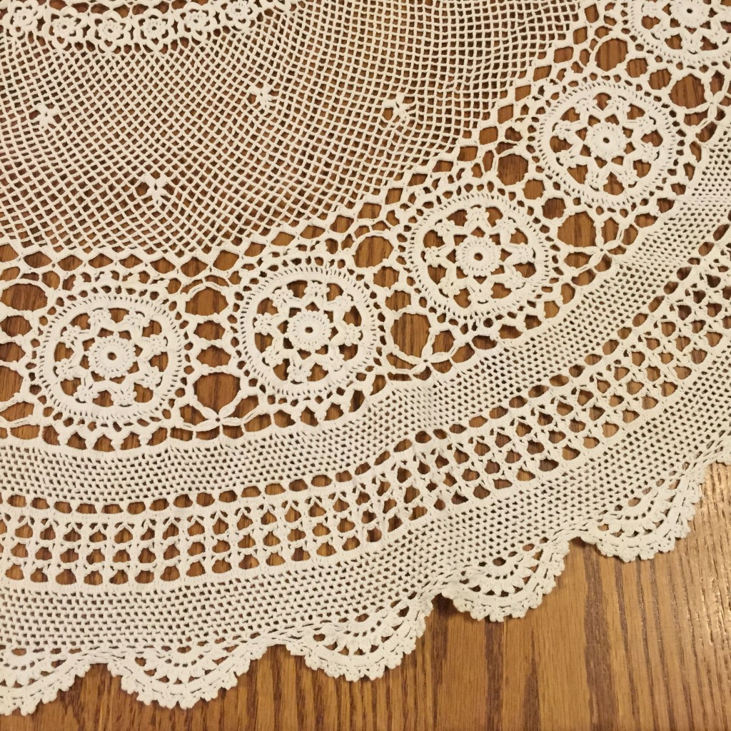 Lace Tablecloth from Oma
