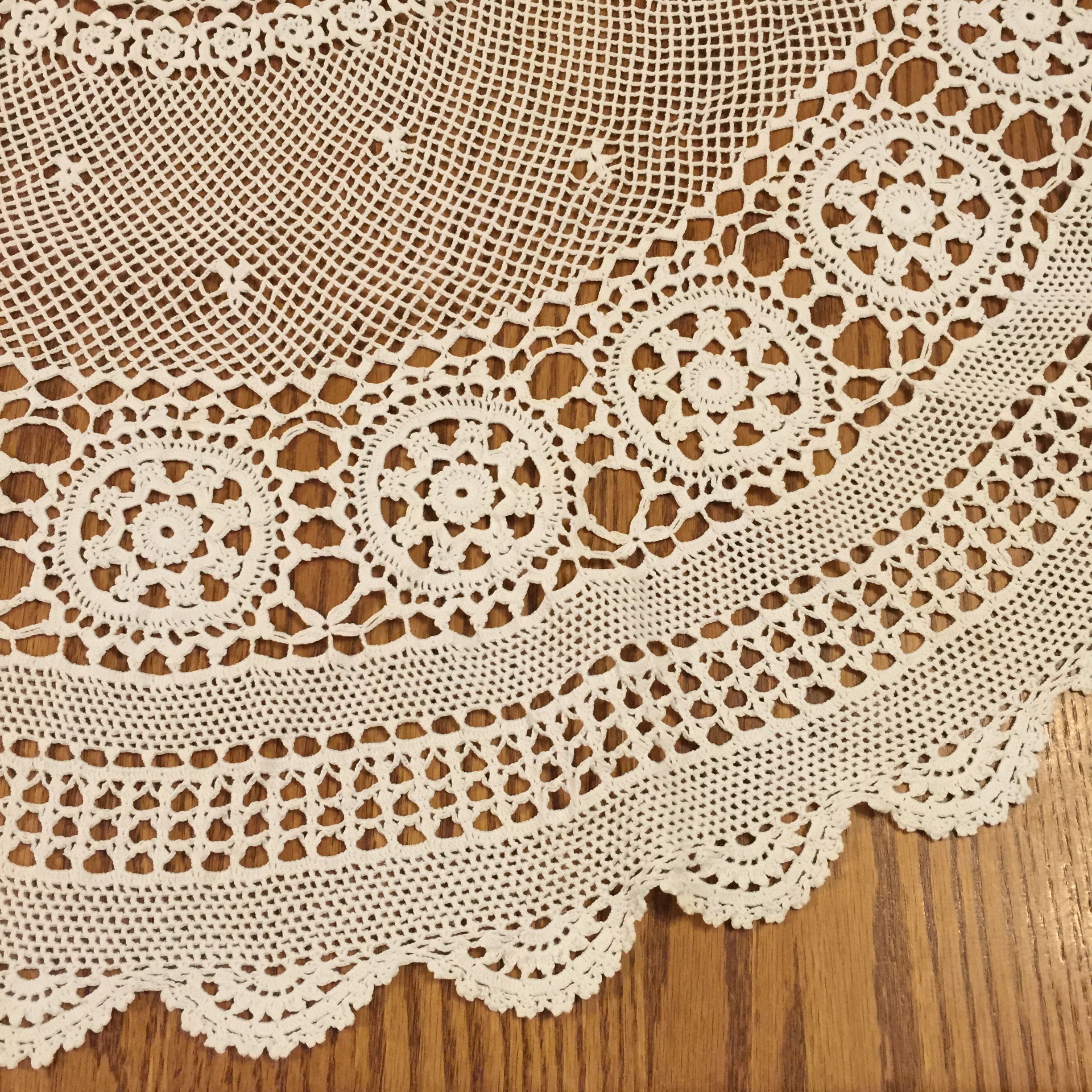 Table Cloth Background : Lace Tablecloth Background Sewing – judy nolan