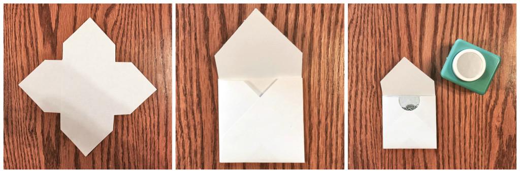 Mini Envelope with Scoring Board