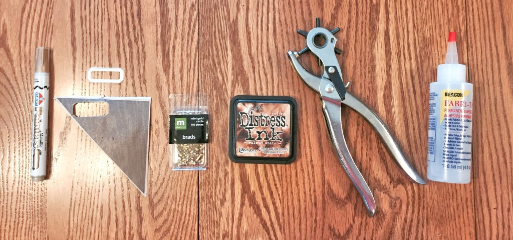 Project supplies and tools