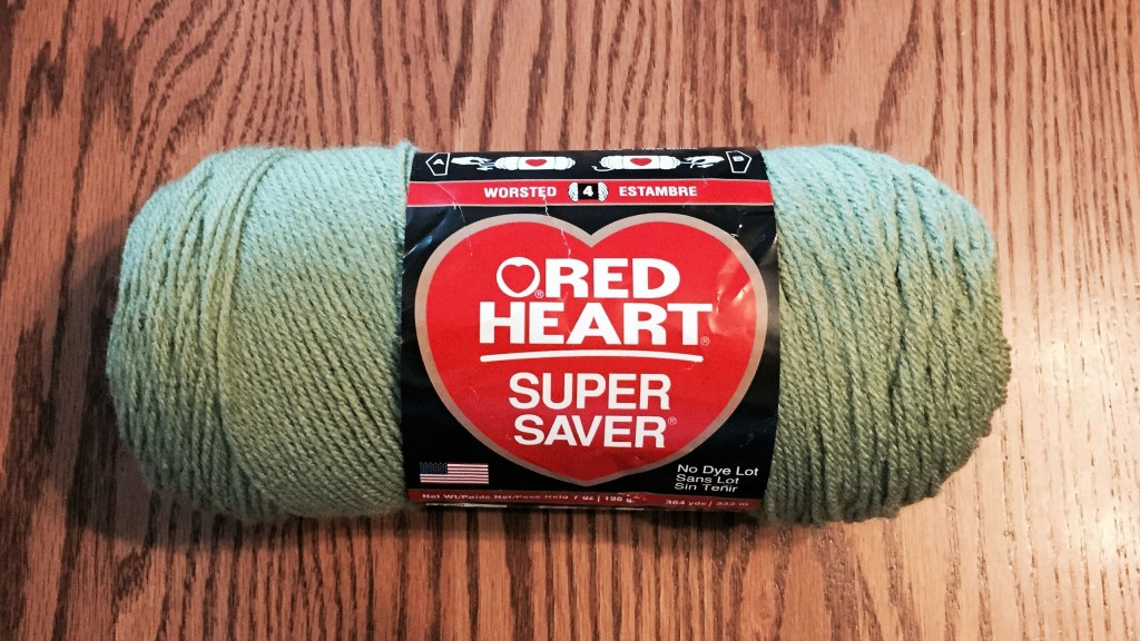 Red Heart skein