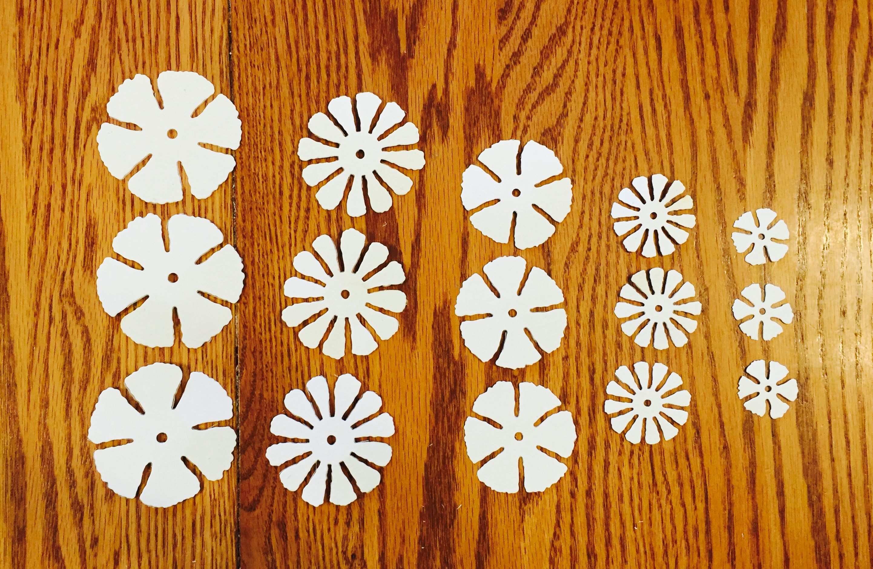 How To Make A Paper Flower Using Ink Water And Scrunched Paper