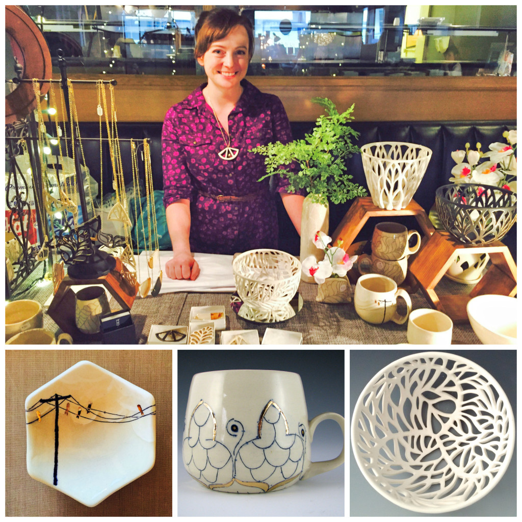 Erin Carpenter of Erin Carpenter Pottery