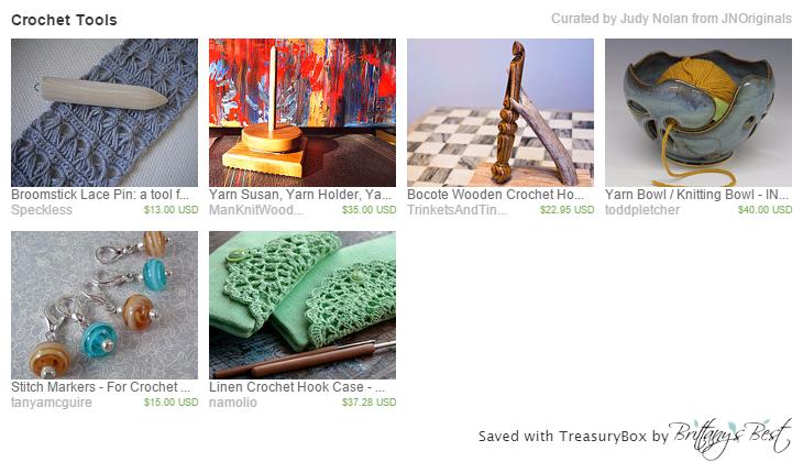 TreasuryBox Crochet Tools