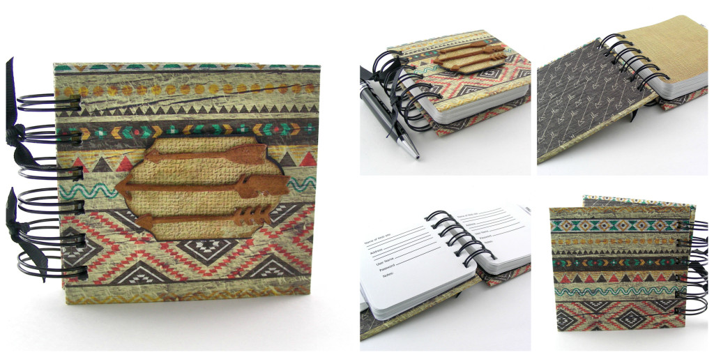 Tribal Style Password Book