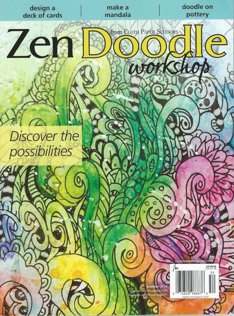 Zen Doodle Workshop Magazine
