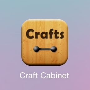 Craft Cabinet App Button