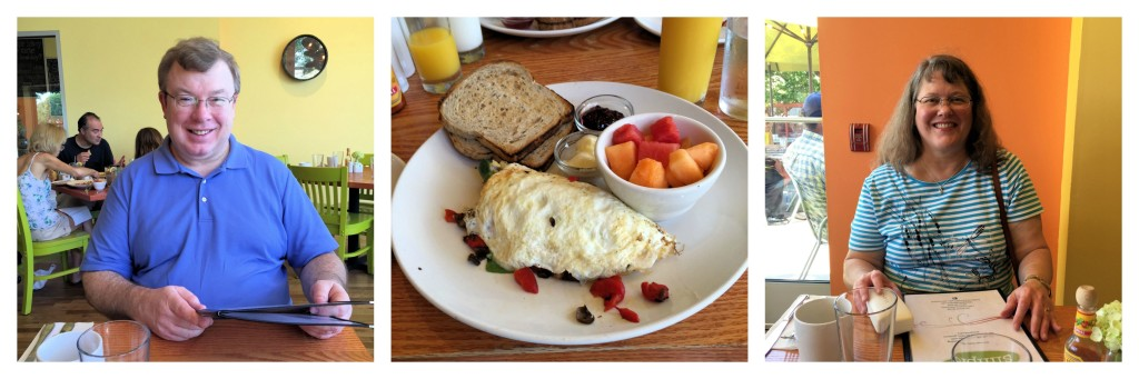 Breakfast at Simple Cafe in Lake Geneva, Wisconsin