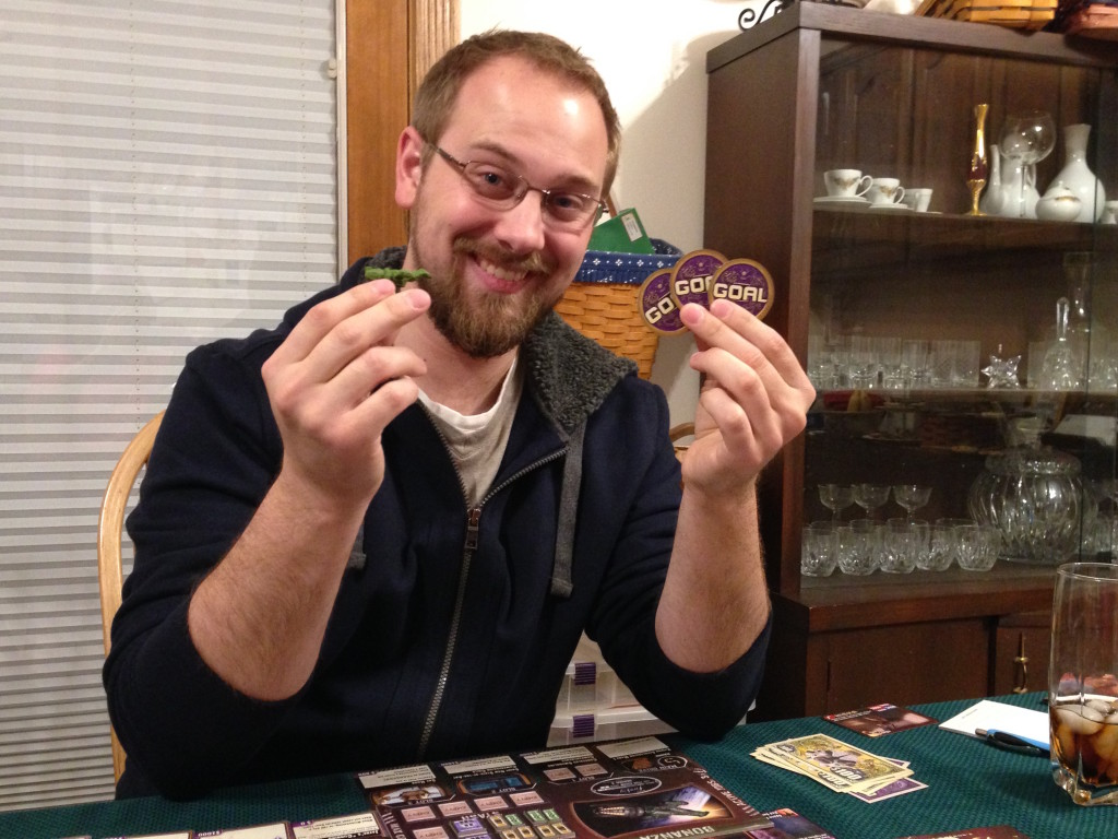 Predictably, David won the game of Firefly, too. Good thing we don't hold a grudge!