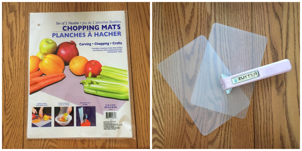 Kitchen Chopping Mats as Category Dividers