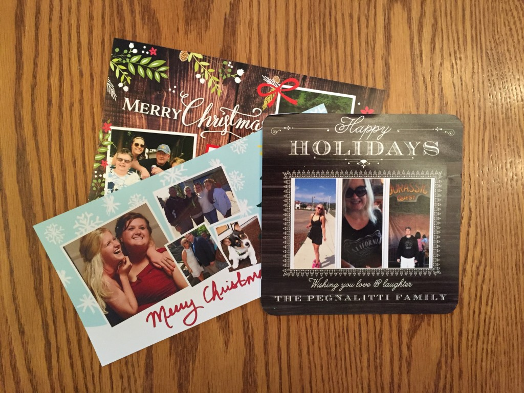 Saved Holiday Post Cards