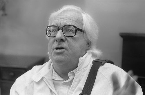 "One of my all-time favorite writers is Ray Bradbury, who claimed he did not have to worry about schedules. ""Some new thing is always exploding in me, and it schedules me, I don't schedule it. It says: Get to the typewriter right now and finish this."" His routine, however, was to head for a typewriter anywhere he could find it. Photo by Fred Guillory (https://www.flickr.com/photos/klytemestra) via: https://creativecommons.org/licenses/by-sa/2.0/"