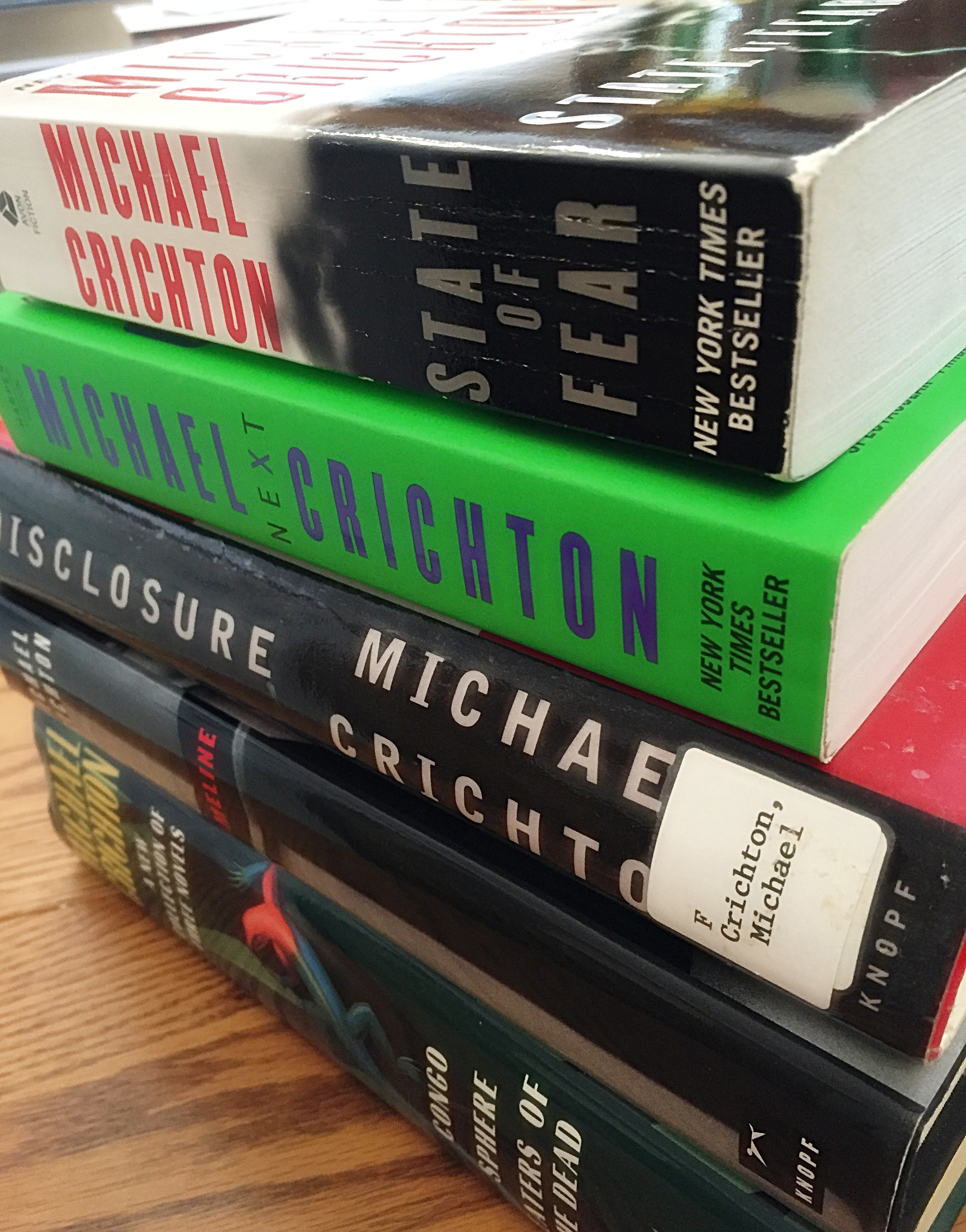 Michael Crichton originally began writing to pay his way through Harvard Medical School.